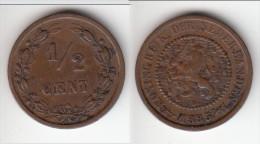 **** PAYS-BAS - NETHERLANDS - 1/2 CENT 1885 **** EN ACHAT IMMEDIAT - 1 Cent