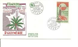 Télécom -Radio -Liaison France-Tahiti ( FDC De Polynésie De 1965 à Voir) - Telecom