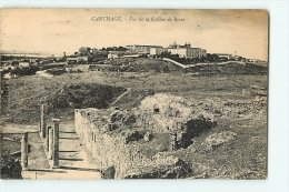 CARTHAGE : Vue Prise De La Colline De Byrsa. 2 Scans. Edition A M - Syrië