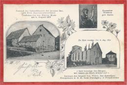 67 - FRÖSCHWEILER - FROESCHWILLER - August 1870 - Schlacht - 3 Vues - Francia