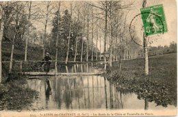 44. Saint Aubin Le Chateau; Les Bords De La Chère Et Passerelle Du Plessis - Otros Municipios