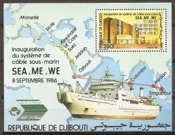 DJIBOUTI 1985 - Yvert #H14 - MNH ** - Yibuti (1977-...)