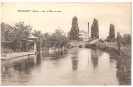 Dépt 27 - SERQUIGNY - Sur La Charentonne - Serquigny