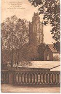 Dépt 27 - VERNEUIL-SUR-AVRE - La Tour De L'Église De La Madeleine - Vue Prise Des Promenades - Verneuil-sur-Avre