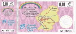 Billet Temporaire De 0,10 Euro De Douai ( Lire Descriptif ) - Euro Der Städte