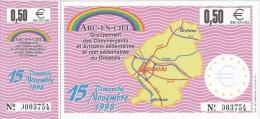 Billet Temporaire De 0,50 Euro De Douai ( Lire Descriptif ) - Euro Der Städte