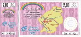 Billet Temporaire De  2  Euro De Douai ( Lire Descriptif ) - Euro Der Städte