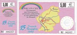 Billet Temporaire De  5  Euro De Douai ( Lire Descriptif ) - Euro Der Städte
