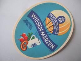 älteres Bieretikett - HB München, Wiesen-Märzen, Bayern (étiquettes) - Bier