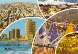 Israel 1990. Tel Aviv  With Air Mail Label Par Avion - Israel