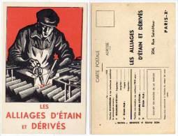Les Alliages D' Etain Et Dérivés - Paris   (57526) - Publicité