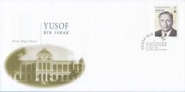 Singapore Stamp FDC: 1999 First President Of Singapore, Yusof Bin Ishak, SG122779 - Singapore (1959-...)