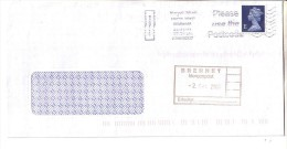 GOOD GB Postal Cover To GERMANY 2000 - Good Stamped: Elizabeth II - 1952-.... (Elizabeth II)