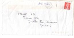 GOOD GB Postal Cover To GERMANY 1994 - Good Stamped: Elizabeth II - 1952-.... (Elizabeth II)