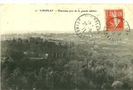 Viroflay. Panorama De Viroflay Pris De La Grande Sblière. - Viroflay