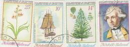 Norfolk Island-1974 Bicentenary Discovery Norfolk Island Used - Norfolk Island