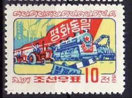 North Korea 1961  Michel 306 Mnh TRAIN - Trenes