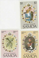 Samoa-1981 Royal Wedding MNH - Samoa