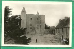 NOIRMOUTIER   - LE CHATEAU COUR INTERIEURE  2634 - Ile De Noirmoutier