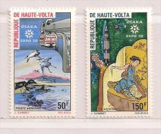 HAUTE VOLTA ( D14 - 8137 )  1970   N° YVERT ET TELLIER  POSTE AERIENNE   N° 82/83  N** - Haute-Volta (1958-1984)