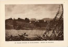 UN VILLAGE ENTOURE DE HOUBLONNIERES REGION DE HAGUENAU - Other Plans