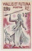 Wallis And Futuna-1971 12fr On 19fr Warrior MNH - Wallis And Futuna