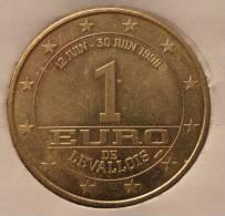 1 Euro Temporaire Precurseur De  LEVALLOIS  1998, RRRR, BR, Nr. 379 - Euro Der Städte