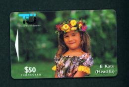 COOK ISLANDS - Magnetic Phonecard As Scan - Cookeilanden
