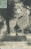 36Ve    83 Cotignac Fontaine De La Place - Cotignac