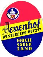 10 Hotel Labels GERMANY Duitsland Allemagne  Hannover Sauerland  Bonn   Baden Baden Godesberg Munster Weimar - Hotel Labels