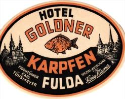 20 Hotel Labels -GERMANY Duitsland Deutschland  Durchheim Darmstadt Rostock Ravensburg Rhondorf Rudesheim Reutlingen - Etiquettes D'hotels