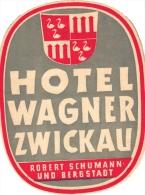 18  Hotel Labels GERMANY Duitsland Deutschland Assmannshausen - Driburg - Darmstadt - Frankfurt - Wurzburg - Bergstadt - - Hotelaufkleber
