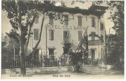 CARTOLINA - SALUTI DA RICCIONE - HOTEL DES BAINS  - NON VIAGGIATA - Rimini