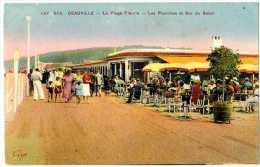 14 DEAUVILLE LA PLAGE FLEURIE LES PLANCHES ET BAR DU SOLEIL - Deauville