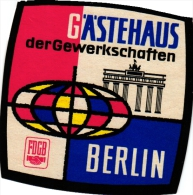 19  Hotel Labels - GERMANY Duitsland Deutschanld - BERLIN Atlanta Zellermayer Johannishof Am Zoo Stephanie Kempinski - Hotelaufkleber