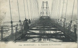 36Ve     13 Marseille La Passerelle Du Transbordeur  (vue Pas Courante) - Vecchio Porto (Vieux-Port), Saint Victor, Le Panier