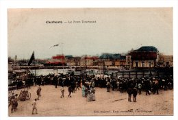 CPA 50 CHERBOURG LE PONT TOURNANT - Cherbourg