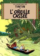 @@@ MAGNET - TINTIN - L'Oreille Cassee, C.1937 - Reclame