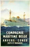 @@@ MAGNET - Compagnie Maritime Belge - Reclame