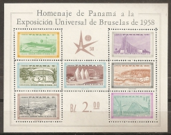 BRUSELAS'58 - PANAMA 1958 - Michel #H5 - MNH ** - 1958 – Brussels (Belgium)