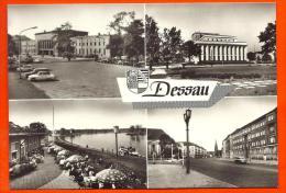 DESSAU -  Hauptbahnhof  - Landestheater ...   ( L66 ) - Dessau