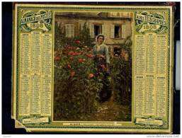 Calendrier 1892 Ma Voisine - Calendars