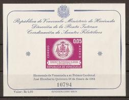 VENEZUELA 1962 - Yvert #H5 - MNH ** - Venezuela