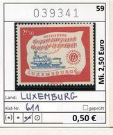 Luxemburg - Luxembourg - Michel  611 - ** Mnh Neuf Postfris - Luxemburg