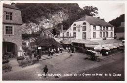 Remouchamps 42: Entrée De La Grotte Et Hôtel De La Grotte - Aywaille