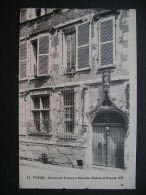 Tours-Maison De Tristan L'Hermite.Entree Et Facade - Centre-Val De Loire