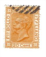 1877 20 Cent Ocra Usato COD FRA.251 - 1861-78 Vittorio Emanuele II