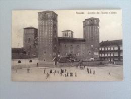 CARTOLIMA CITTÀ DI FOSSANO CASTELLO DEI PRINCIPI D'ACACIA DEL 1914 VIAGGIATA IN BUONO STATO - Cuneo