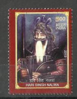 INDIA, 2013, Hari Singh Nalwa,  MNH, (**) - Nuevos
