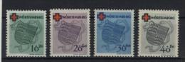 W�rttemberg Michel No. 40 - 43 A ** postfrisch / No. 41 minimale Fingerspur